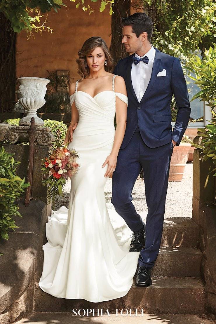 Simple Sophisticated Wedding Dress Ines