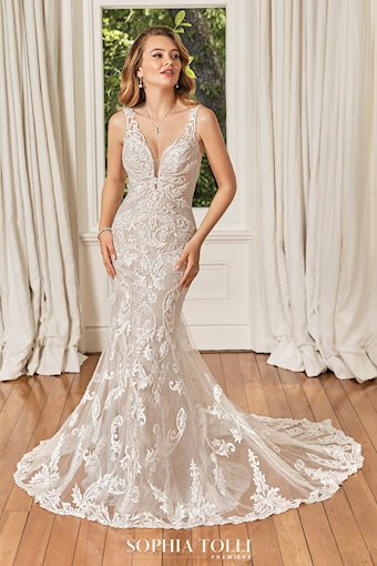Glamorous Wedding Gown with Pearl Beading Ciara