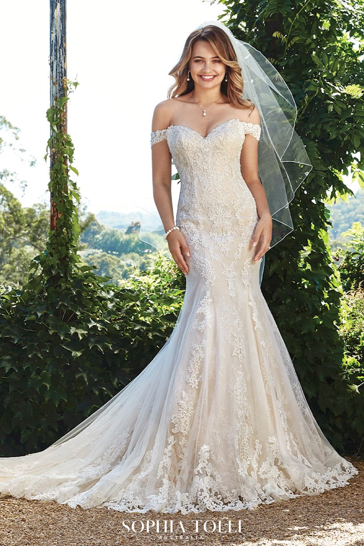 Classic Romantic Layered Lace Wedding Dress Kacey