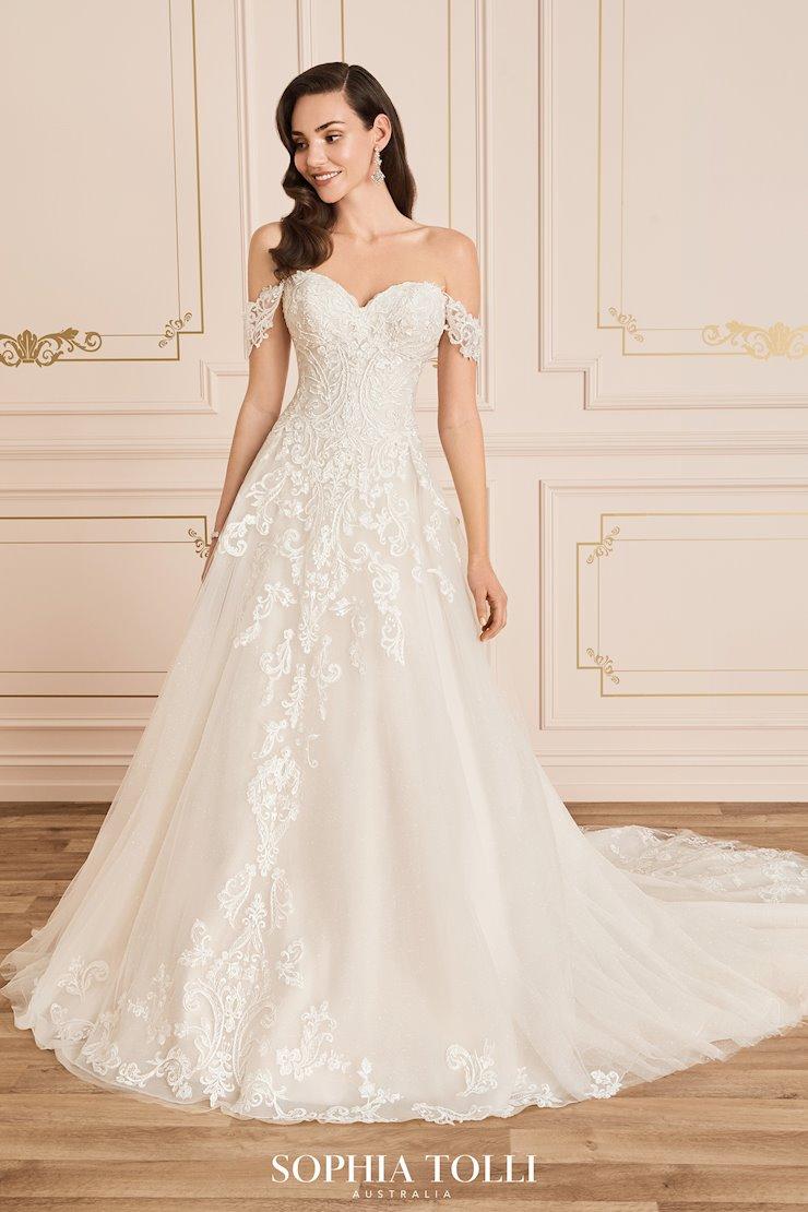 Shimmering Princess A-Line Wedding Dress Trixie