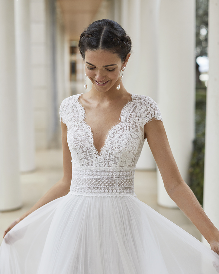 Rosa Clara Couture Style #Sauca