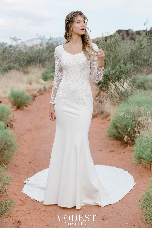 Modest Lace Wedding Dresses Modest By Mon Cheri