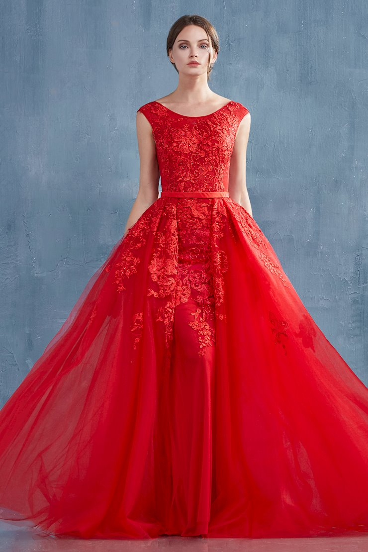 Andrea & Leo Couture Style #A0257  Image