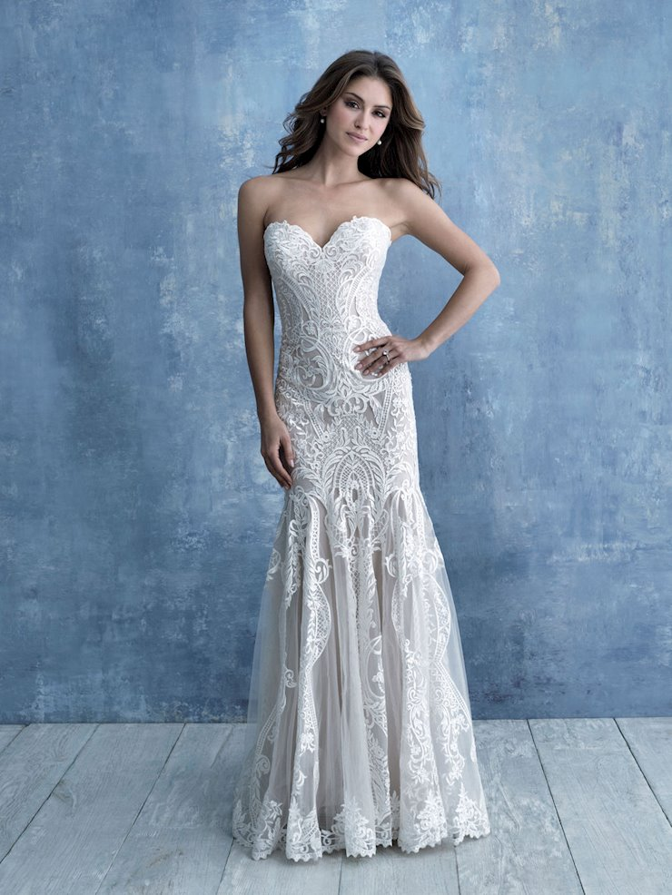 Allure Bridals #9727  Image