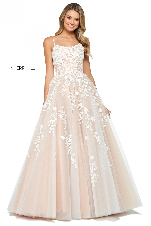 Sherri Hill 53116,Fall Black Tie Wedding Guest Dresses