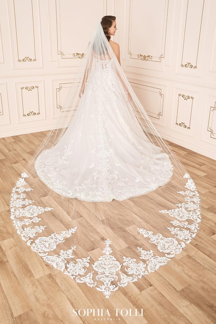Sophia Tolli Style #Y12024VEIL