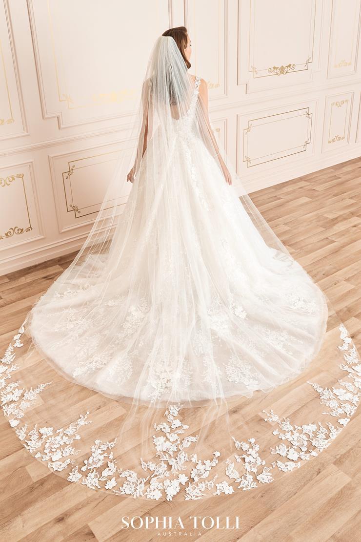 Sophia Tolli Style #Y12038VEIL