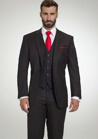 Tuxedo By Sarno Style #CPV99BLK