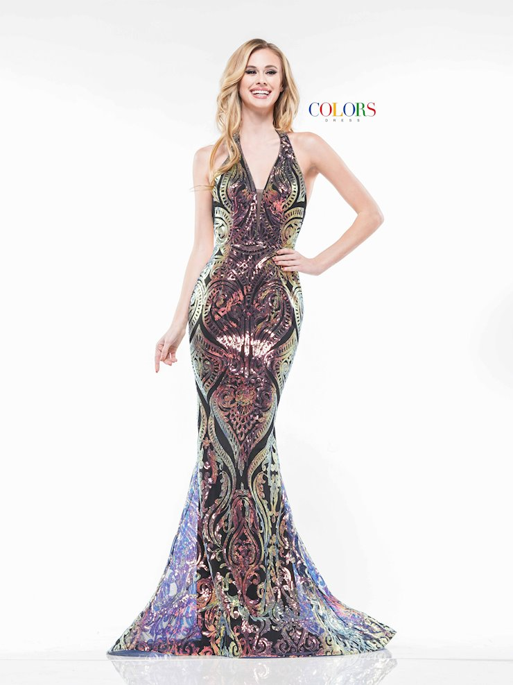 Colors Dress 2141