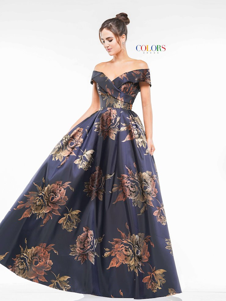 Colors Dress 2144