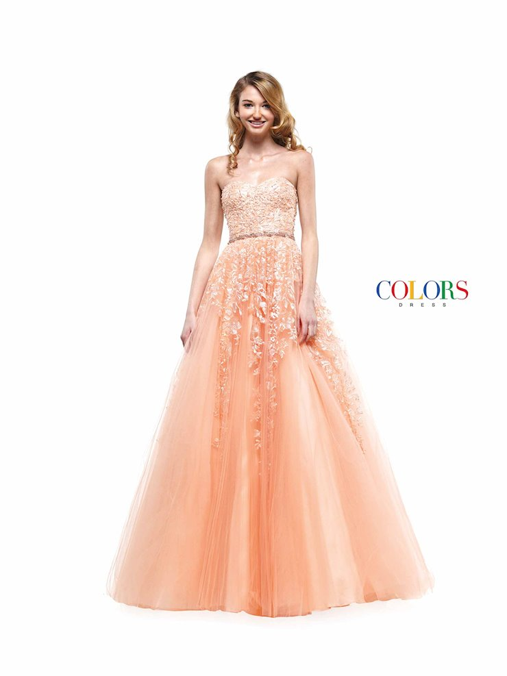 Colors Dress 2154