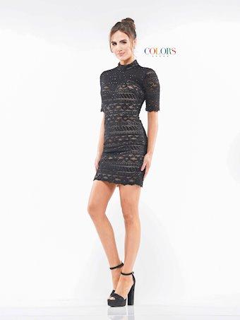 Colors Dress #2162