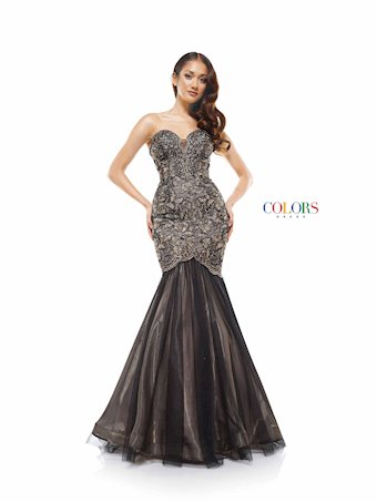 Colors Dress #2163