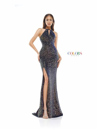 Colors Dress #2323