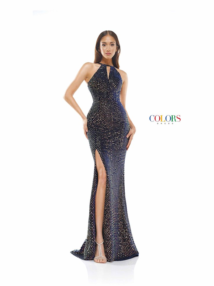 Colors Dress 2323