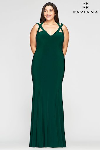 Faviana Plus Size Style #9485