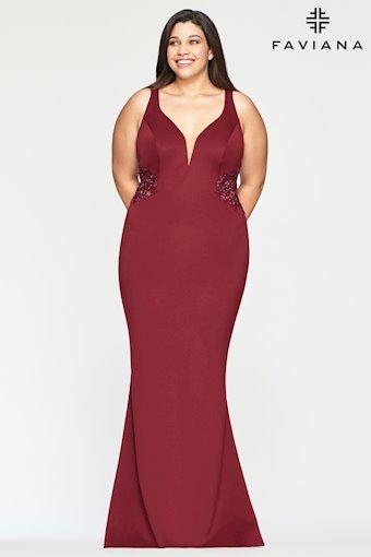 Faviana Plus Size Style #9492