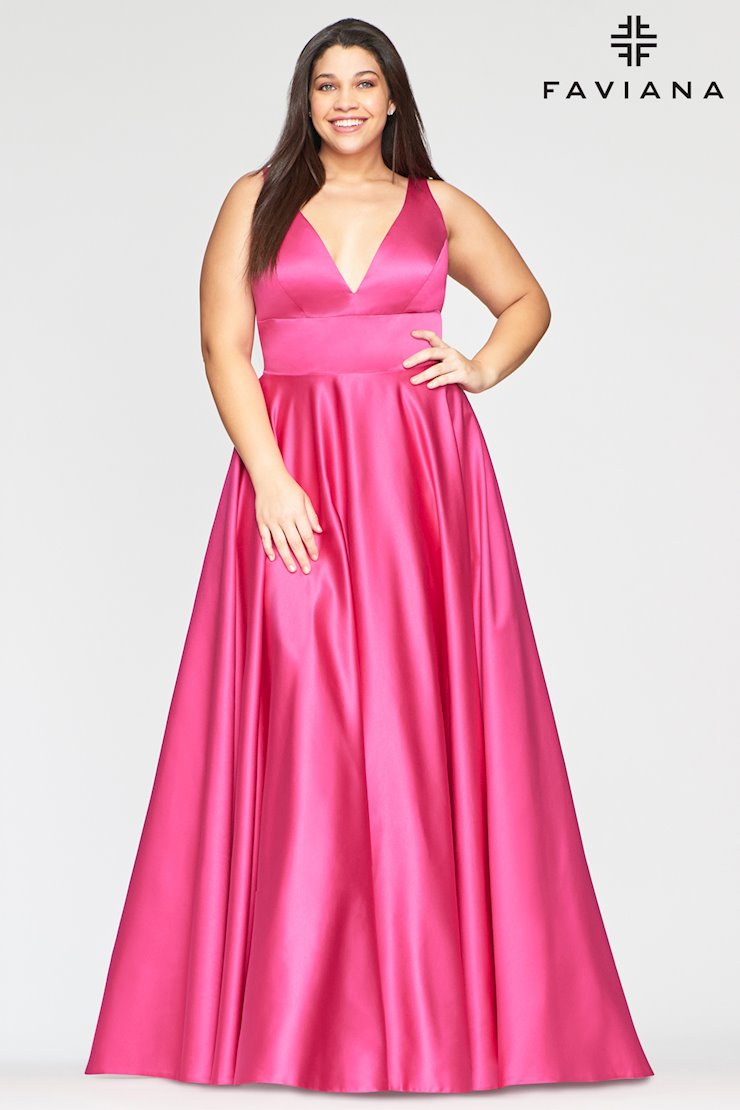 Faviana Plus Size Style #9496  Image