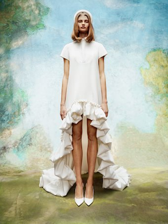 Viktor & Rolf Style #Dramatic High Low Shirt Dress