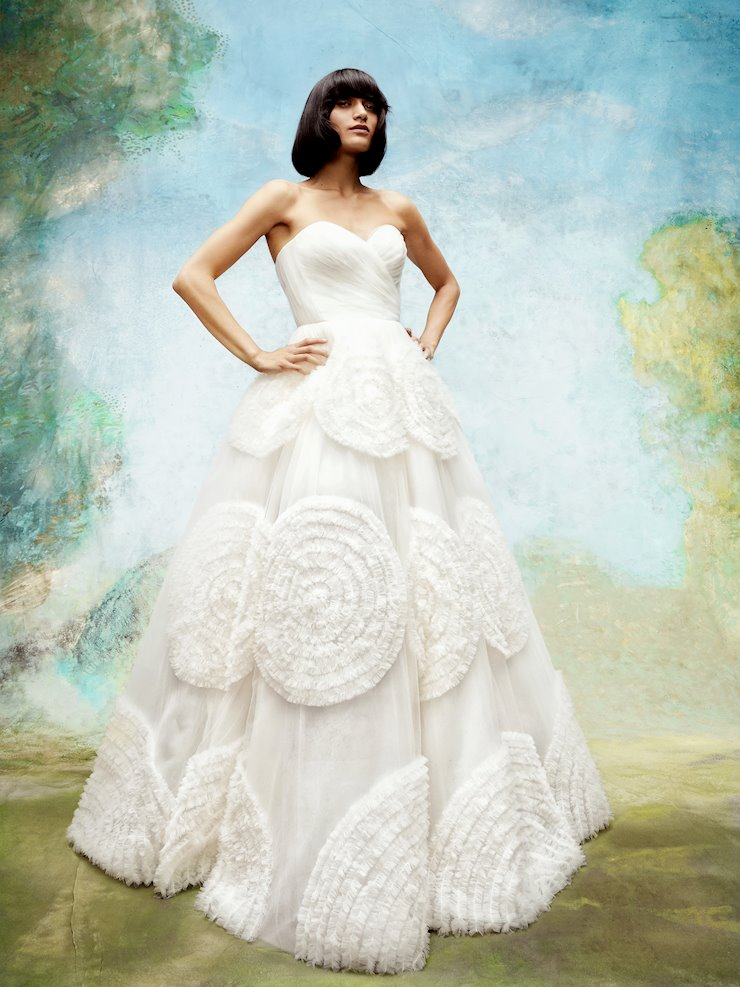Viktor & Rolf Style #Dreamy Tulle Swirls Gown