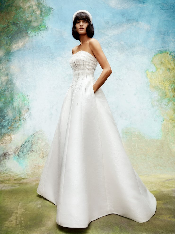 Viktor & Rolf Frosted Tweed Regal Gown