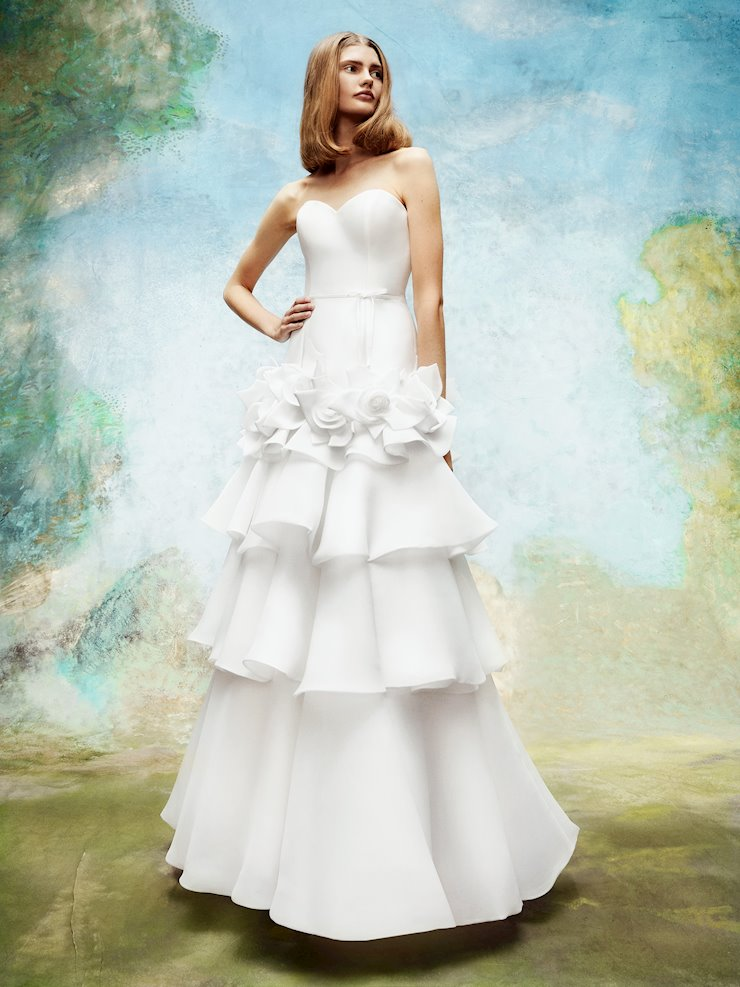 Viktor & Rolf Style #Wild Roses Tiered Gown