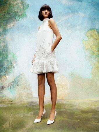 Viktor & Rolf Style #Wisteria Garden V Back Mini Dress