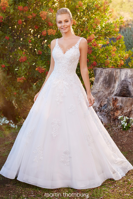 Pin on Martin Thornburg Wedding Dresses