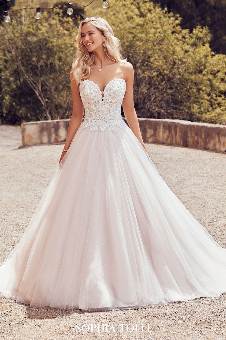 Princess Ballgown Wedding Dress with Beaded Bodice Karoline