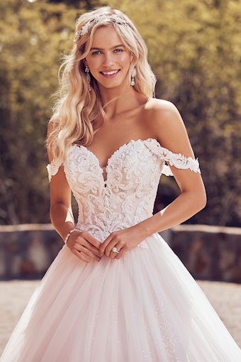 Pearl Beaded Lace Off-Shoulder Straps