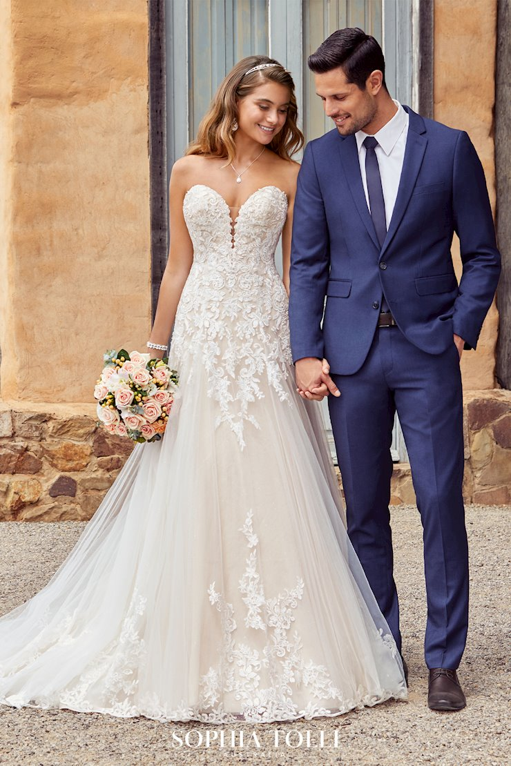 Sparkling Sweetheart A-Line Wedding Gown Montana
