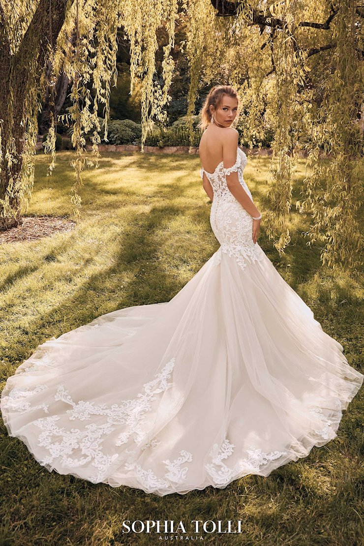 Statement-Making Mermaid Wedding Gown London