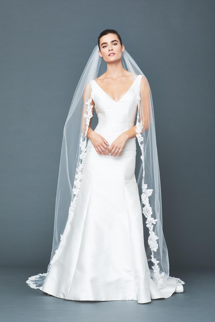Accessories By Anne Barge Style #Faye Chapel Veil  Image