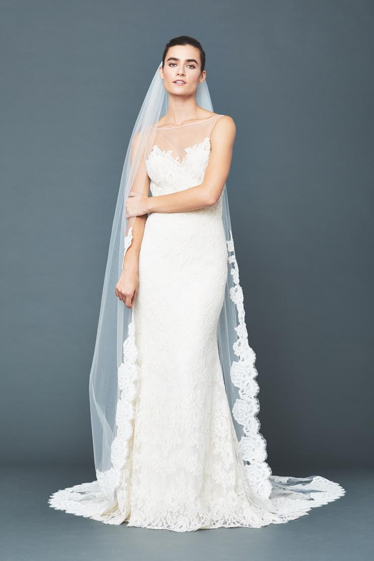 Accessories By Anne Barge Style #Laurel Chapel Veil  Image