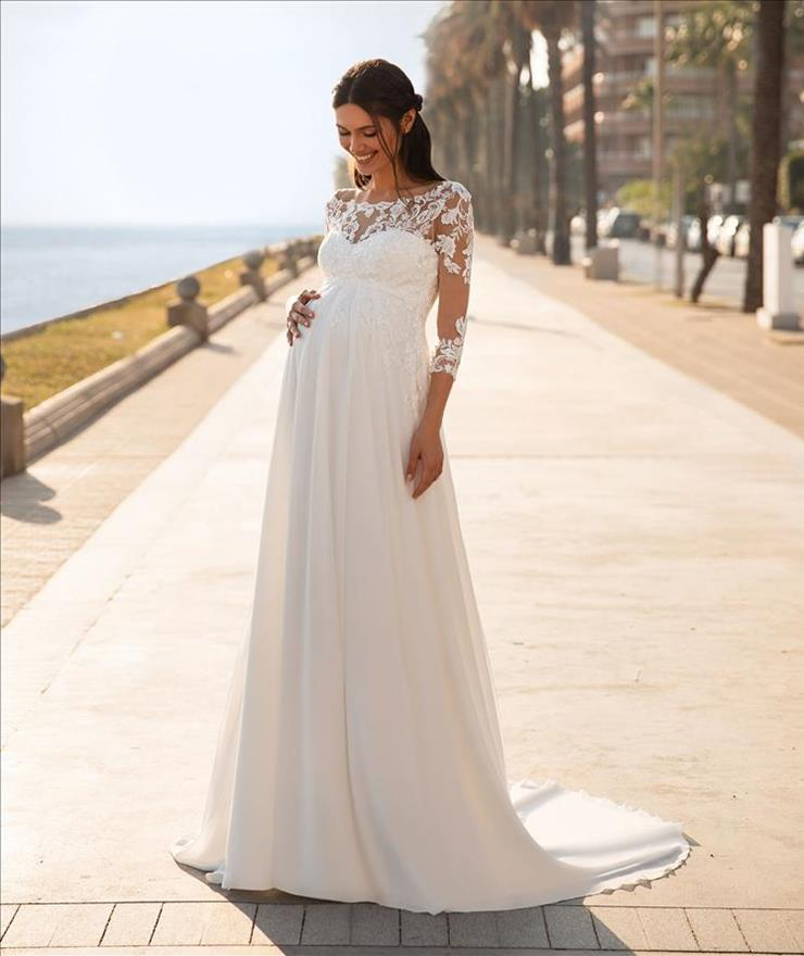 Pronovias Style #Lucky Star Long Sleeves Image