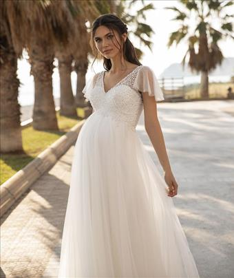 Pronovias Style #Lucky Star Butterfly Sleeves
