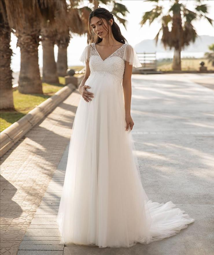 Pronovias #Lucky Star Butterfly Sleeves Image