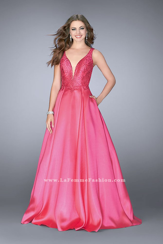 Shop La Femme dresses at Z Couture in Austin, Texas. - 24577