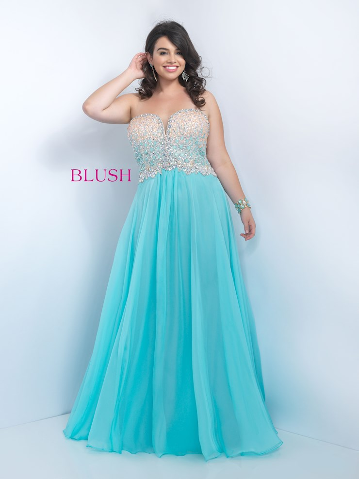 Blush Style #11097W Image