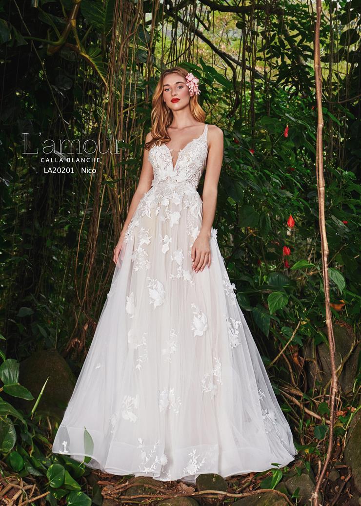 L'Amour by Calla Blanche Style #LA20201 Image