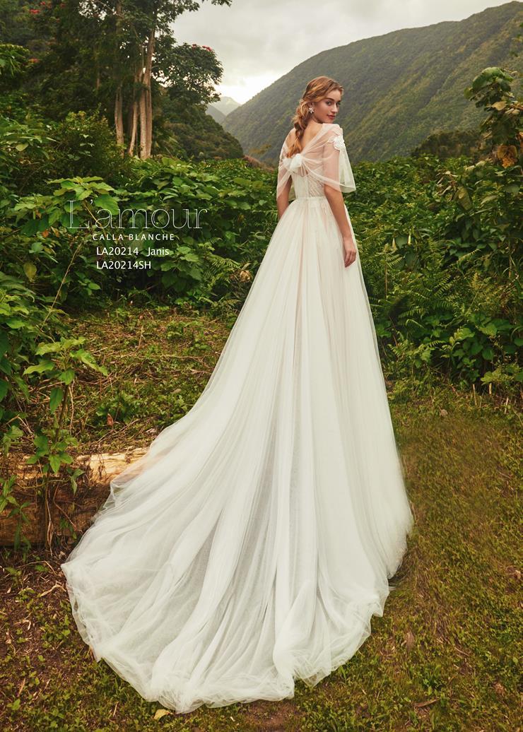 L'Amour by Calla Blanche Style no. LA20214SH  Image
