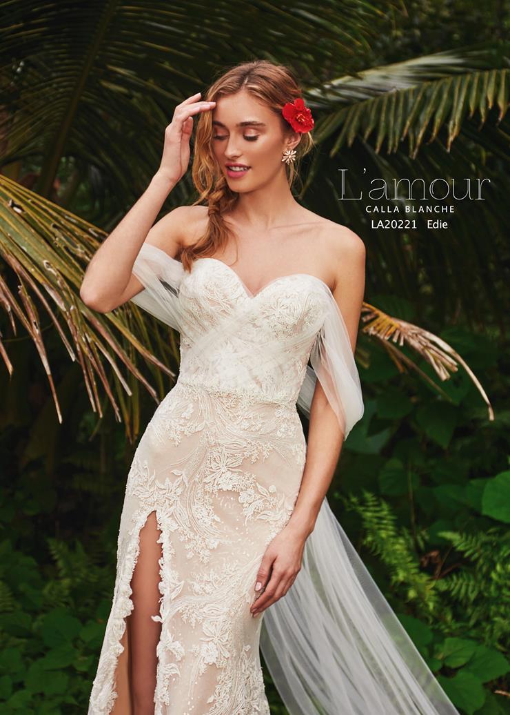 L'Amour by Calla Blanche Style no. LA20221  Image