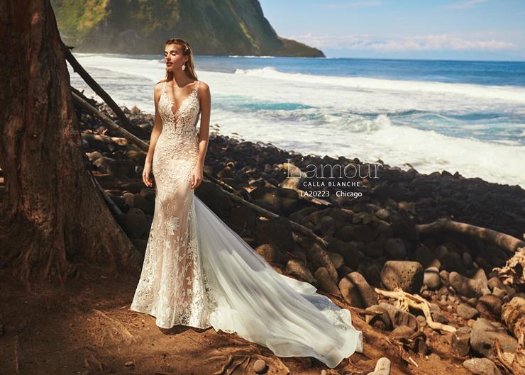 L'Amour by Calla Blanche Style no. LA20223  Image