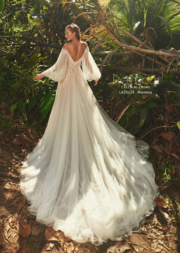 L'Amour by Calla Blanche Style no. LA20224  Image
