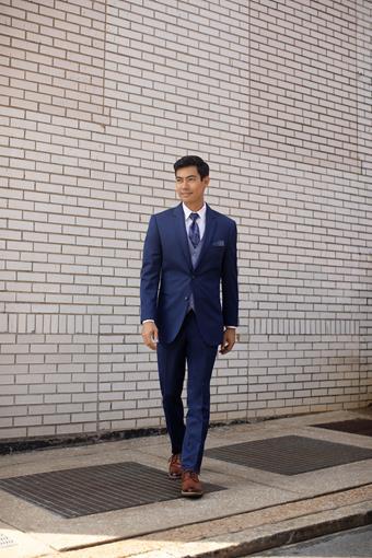 Menswear Blue Performance