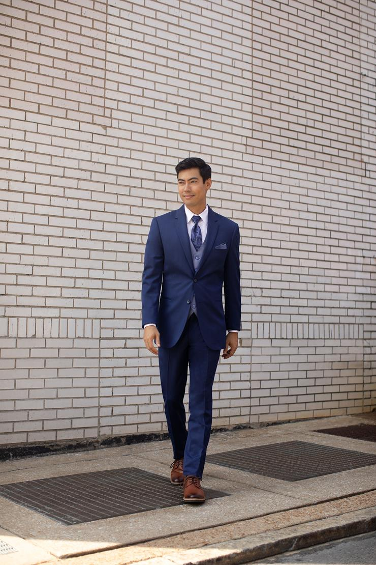 Menswear Blue Performance Image