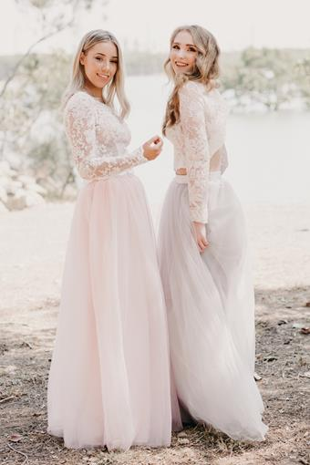Goddess By Nature Style #BRIDAL TULLE SKIRT