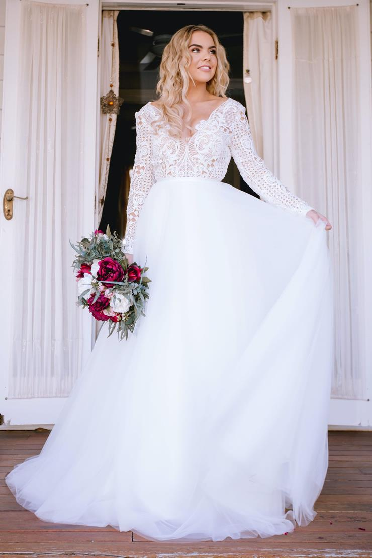 Goddess By Nature Style #DETACHABLE BRIDAL TULLE SKIRT  Image