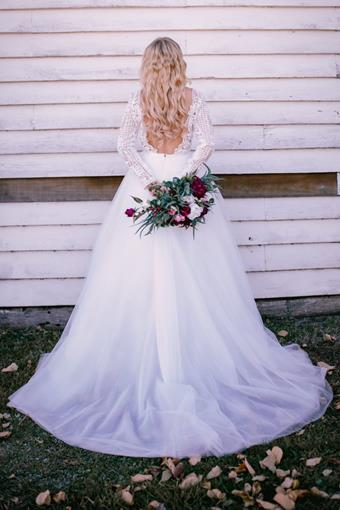 Goddess By Nature Style #DETACHABLE BRIDAL TULLE SKIRT