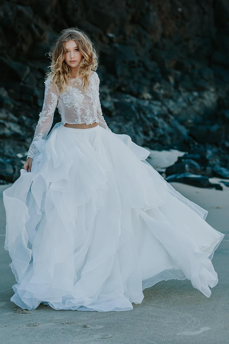 Goddess By Nature Style #WATERFALL SKIRT  Image